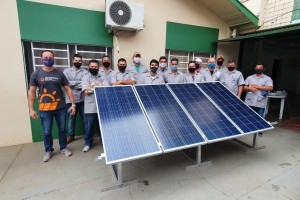 Galeria de fotos 7° Turma Curso Energia Solar em Toledo-PR