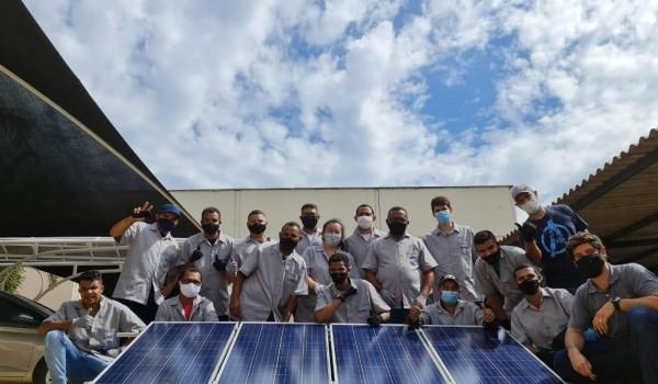 Curso energia solar fotovoltaica Palmas TO